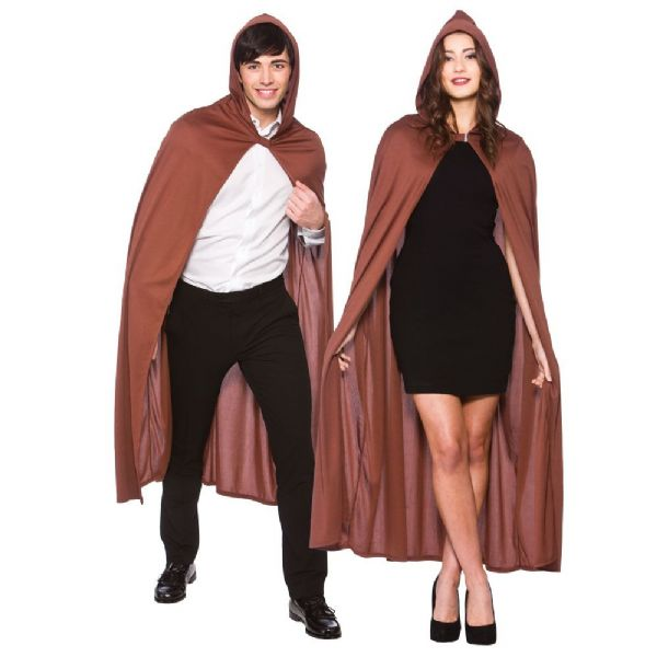 Adult Cape with Hood - Brown
